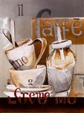 Caffe Crema Art Print