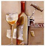 Il Vino Bianco Art Print