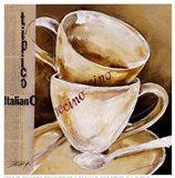 Due Cappuccino Art Print