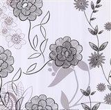 White Lace Floral Art Print