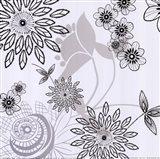 White Shadow  Lace Art Print