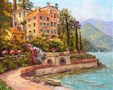 Lake Como Luxury Art Print