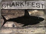 Shark Fest Art Print