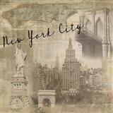 New York Vintage Art Print