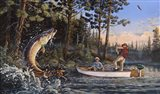 Great Muskie Moments Art Print