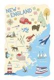 New England Art Print