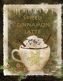 Spiced Cinnamon Latte Art Print