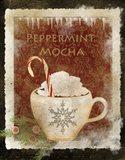 Peppermint Mocha Art Print