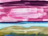 Abstract Sunset 2 Art Print