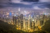 View from The Peak Hong Kong Art Print