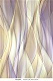 Sheer Lilac And Creme Art Print