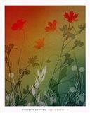kari's garden II Art Print