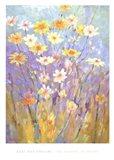 Garden in Spring Art Print