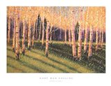 Aspen Light (Left) Art Print