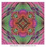 Crystal Refraction #40 Art Print