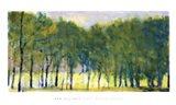 Soft Green Grove Art Print