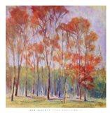 Tree Grouping II Art Print