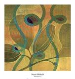 Moonflowers II Art Print