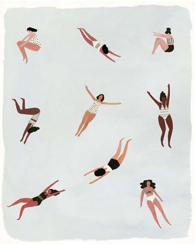 Minnows I Art Print by Borges