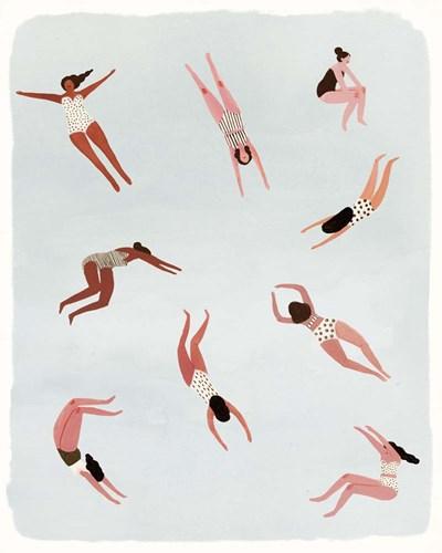 Minnows II Art Print by Borges