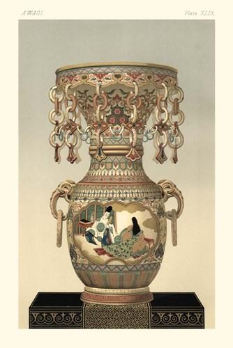 Awagi Vase Pl. XLIX Art Print by Audsley