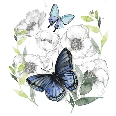 Butterfly Floral II