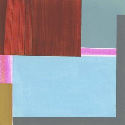 Blue Neons III Art Print by Bellissimo Art