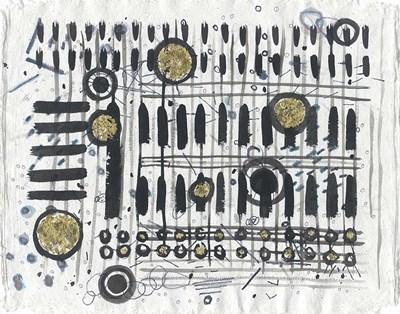 Notes & Keys Art Print by Arbel