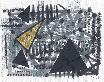 Golden Triangle Art Print by Arbel