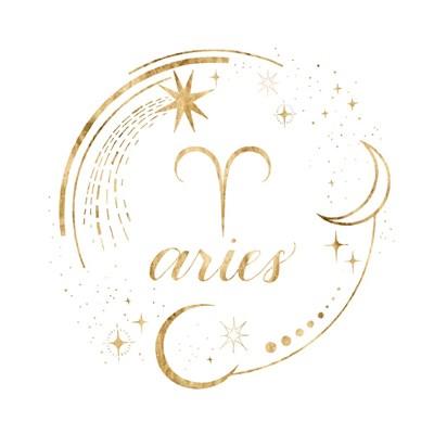 Gilded Astrology I Art Print by Popp