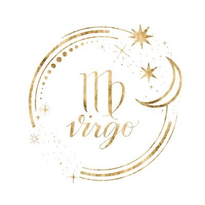 Gilded Astrology VI Art Print by Popp