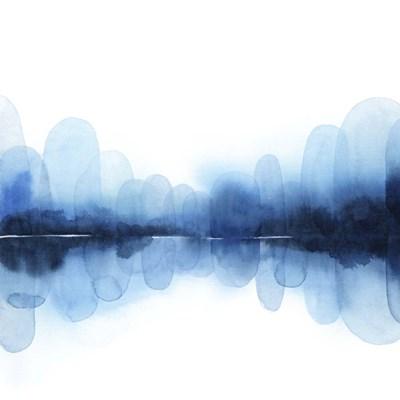 Ultramarine Mirror I Art Print by Popp