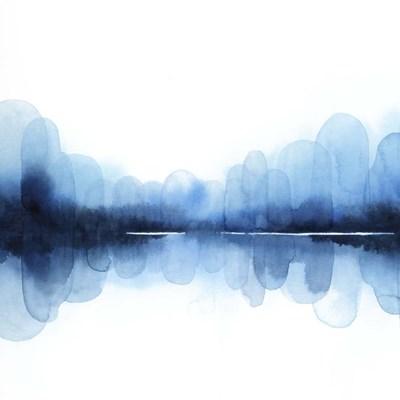 Ultramarine Mirror II Art Print by Popp