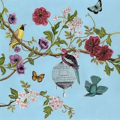 Bird Song Chinoiserie II