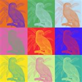 Parrot Party I Art Print