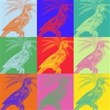 Parrot Party II Art Print