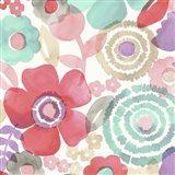 Ocean Shores Floral II Art Print