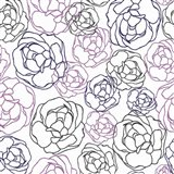 Cottage Rose Garden I Art Print