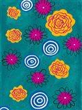 Flower Pop II Art Print
