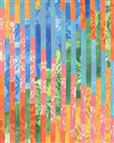 Quilted Monoprints VI Art Print