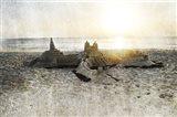 Sand Castle I Art Print