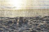 Sand Castle III Art Print