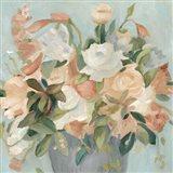 Soft Pastel Bouquet II Art Print