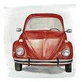 Classic Autos I Art Print