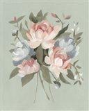 Pastel Bouquet I Art Print