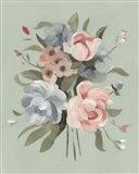 Pastel Bouquet II Art Print