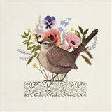 Avian Collage I Art Print