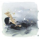Cerulean & Gold II Art Print