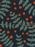 Blooming Garden Pattern II Art Print