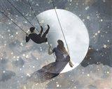 Celestial Love II Art Print